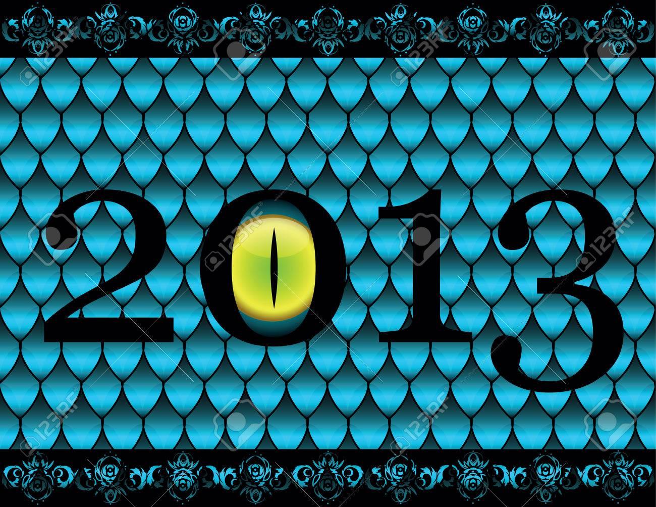snake eyes  on background as snake skin Stock Vector - 23193430