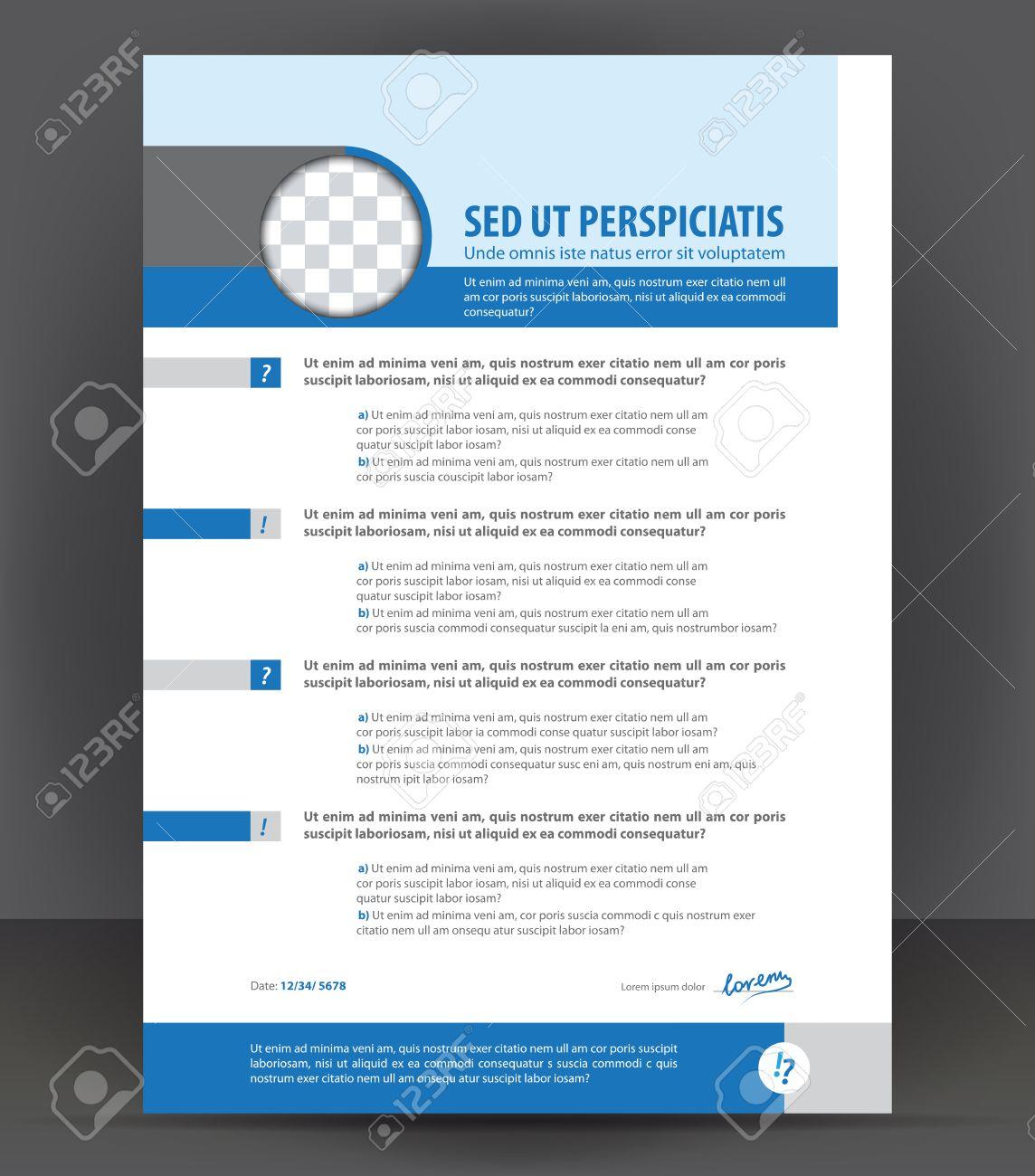 Vector Plantilla De Diseno De Impresion Curriculum Vitae Cv Ejemplo