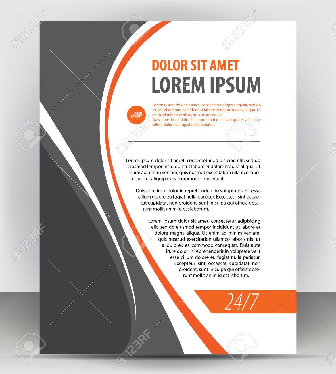 magazine flyer brochure and cover layout design print template magazine flyer brochure and cover layout design print template pamphlet vector letter format
