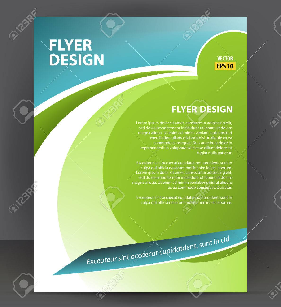 Flyer Brochure, Cover Layout Design Print Template, Pamphlet Vector  Illustration Stock Vector   78981630  Pamphlet Layout Template