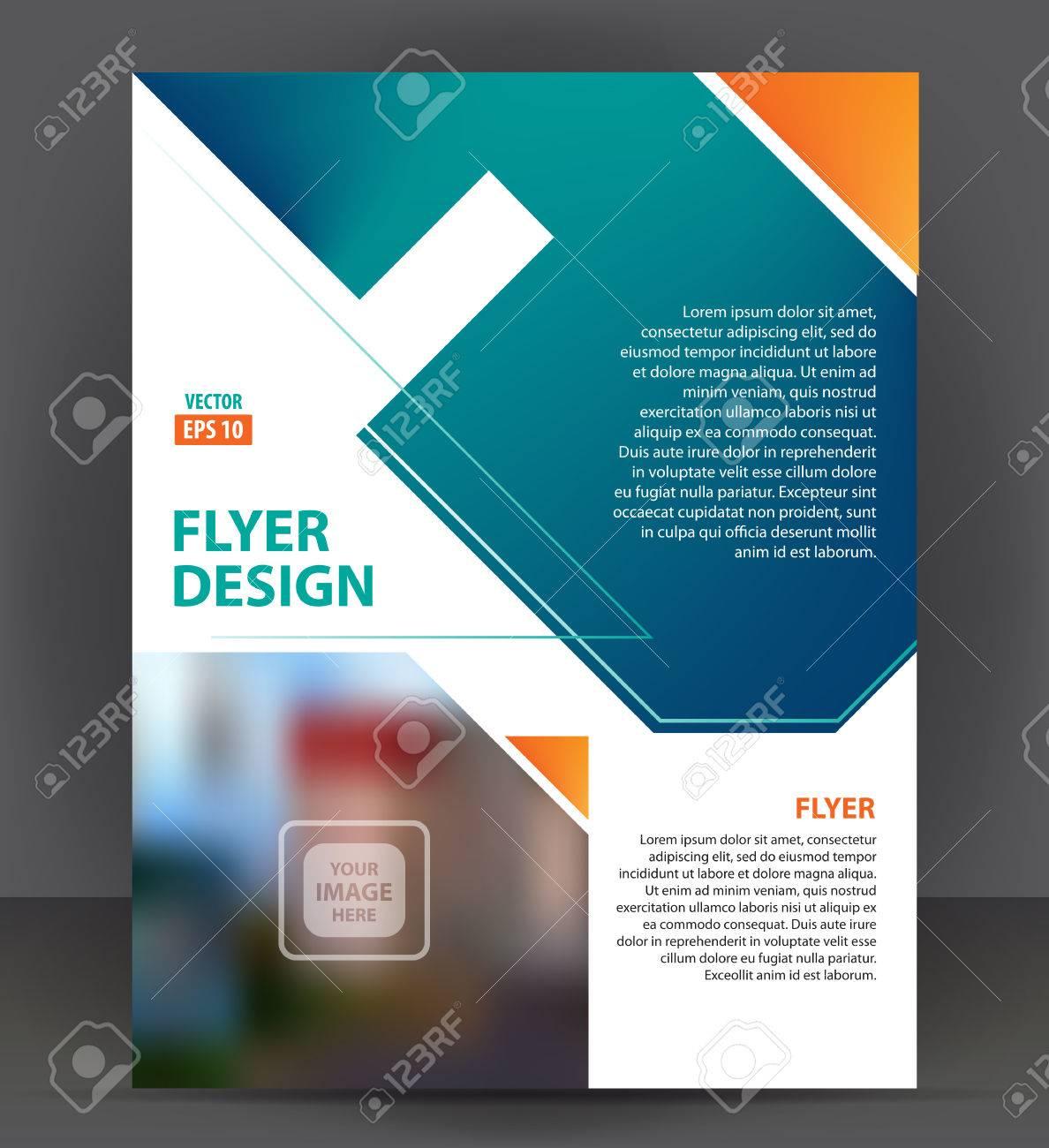Flyer Brochure, Cover Layout Design Print Template, Pamphlet ...