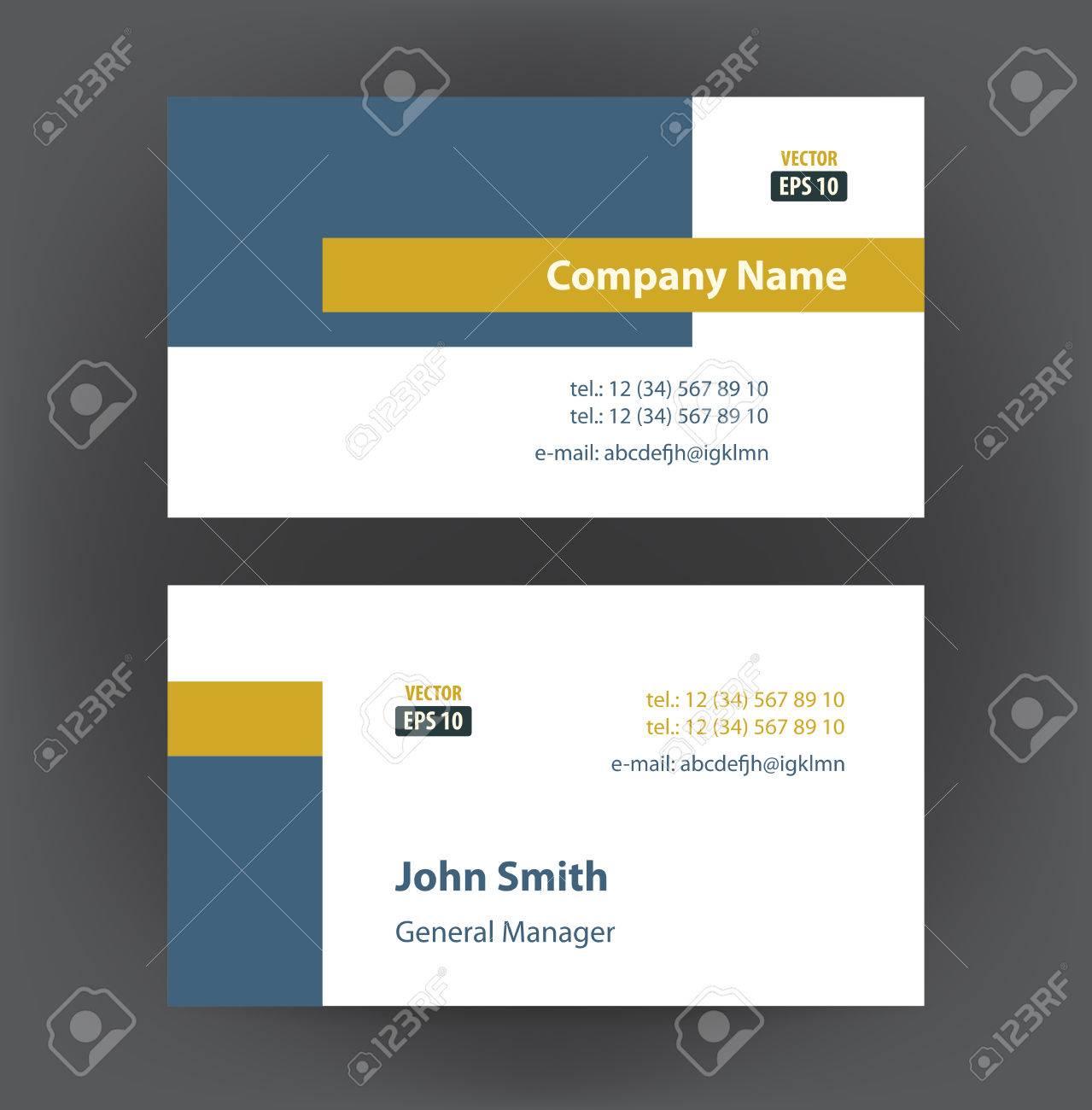 Vector professional designer horizontal personal business cards vector vector professional designer horizontal personal business cards set collection colourmoves