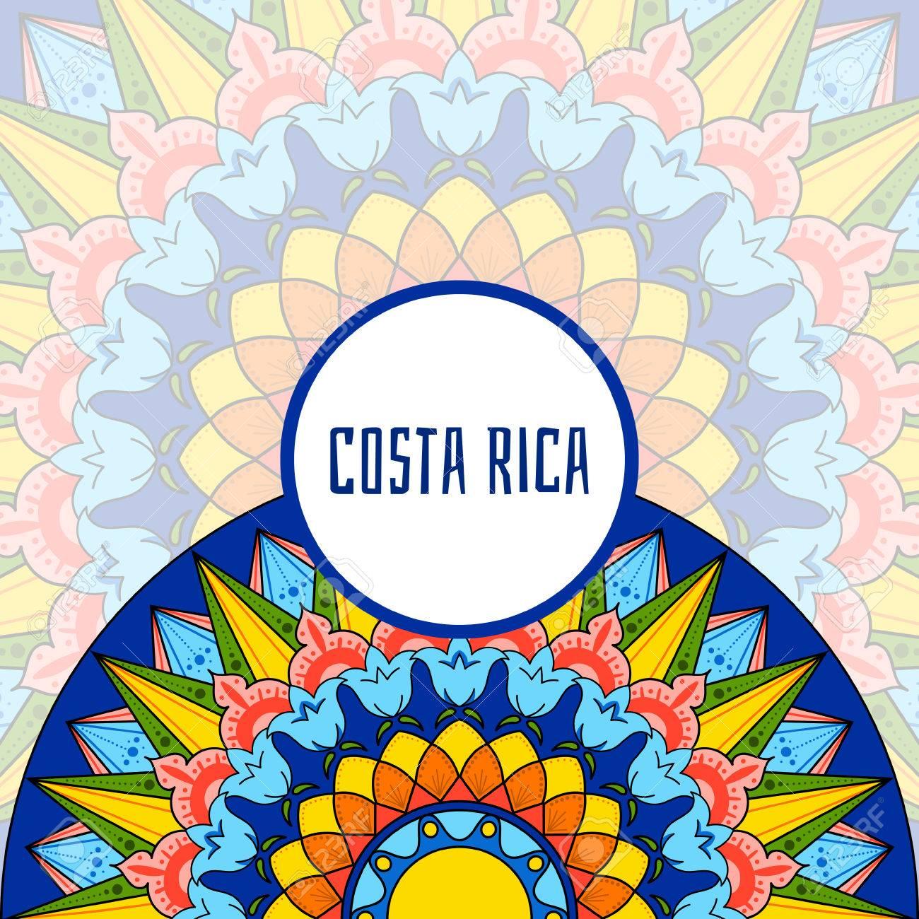 Costa rica illustration vector decorated coffee carreta ornament costa rica illustration vector decorated coffee carreta ornament wheel design for tourist symbols souvenir biocorpaavc Gallery