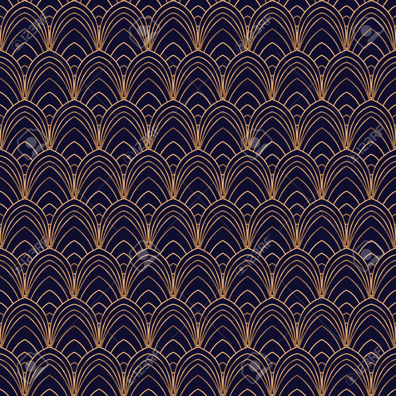Luxury background vector scale art deco pattern seamless feather luxury background vector scale art deco pattern seamless feather ornament design for wallpaper voltagebd Images