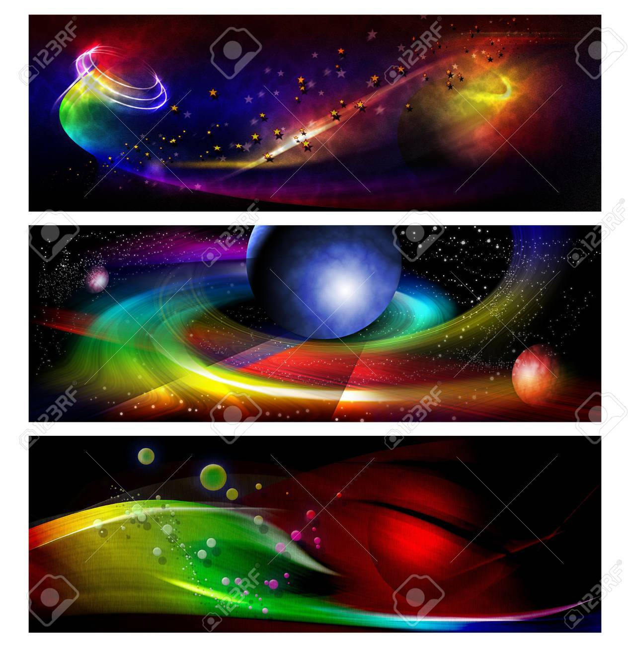 colorful banner Stock Photo - 7475311