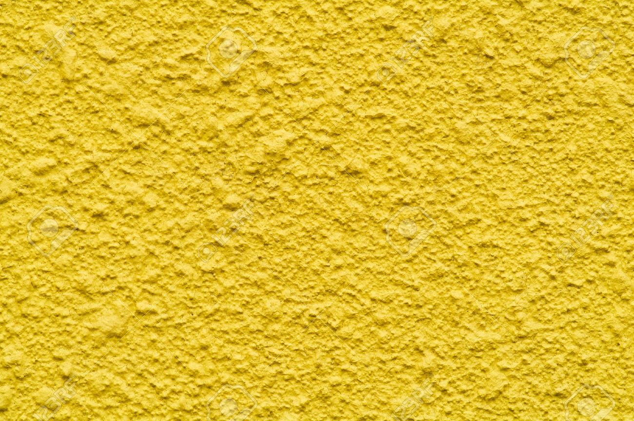 background of the texture wall bright yellow colour Stock Photo - 2409705
