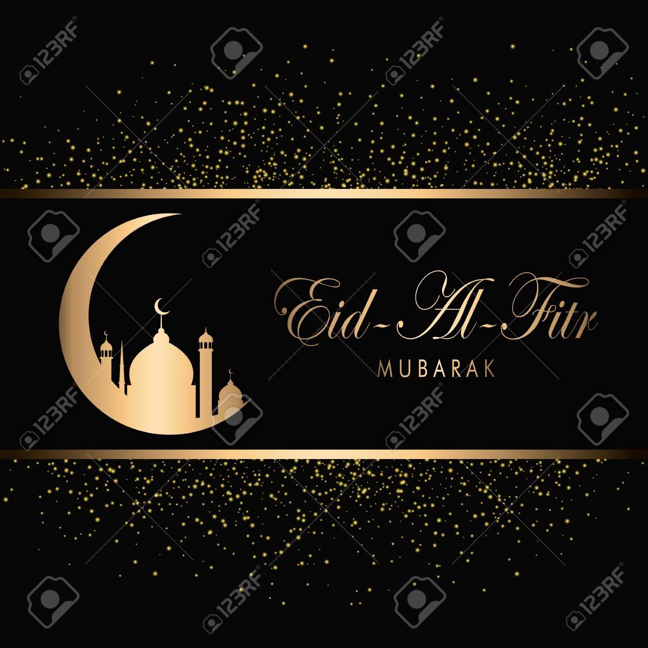 eid mubarak design background gold sparkling vector illustration royalty free cliparts vectors and stock illustration image 99980084 eid mubarak design background gold sparkling vector illustration
