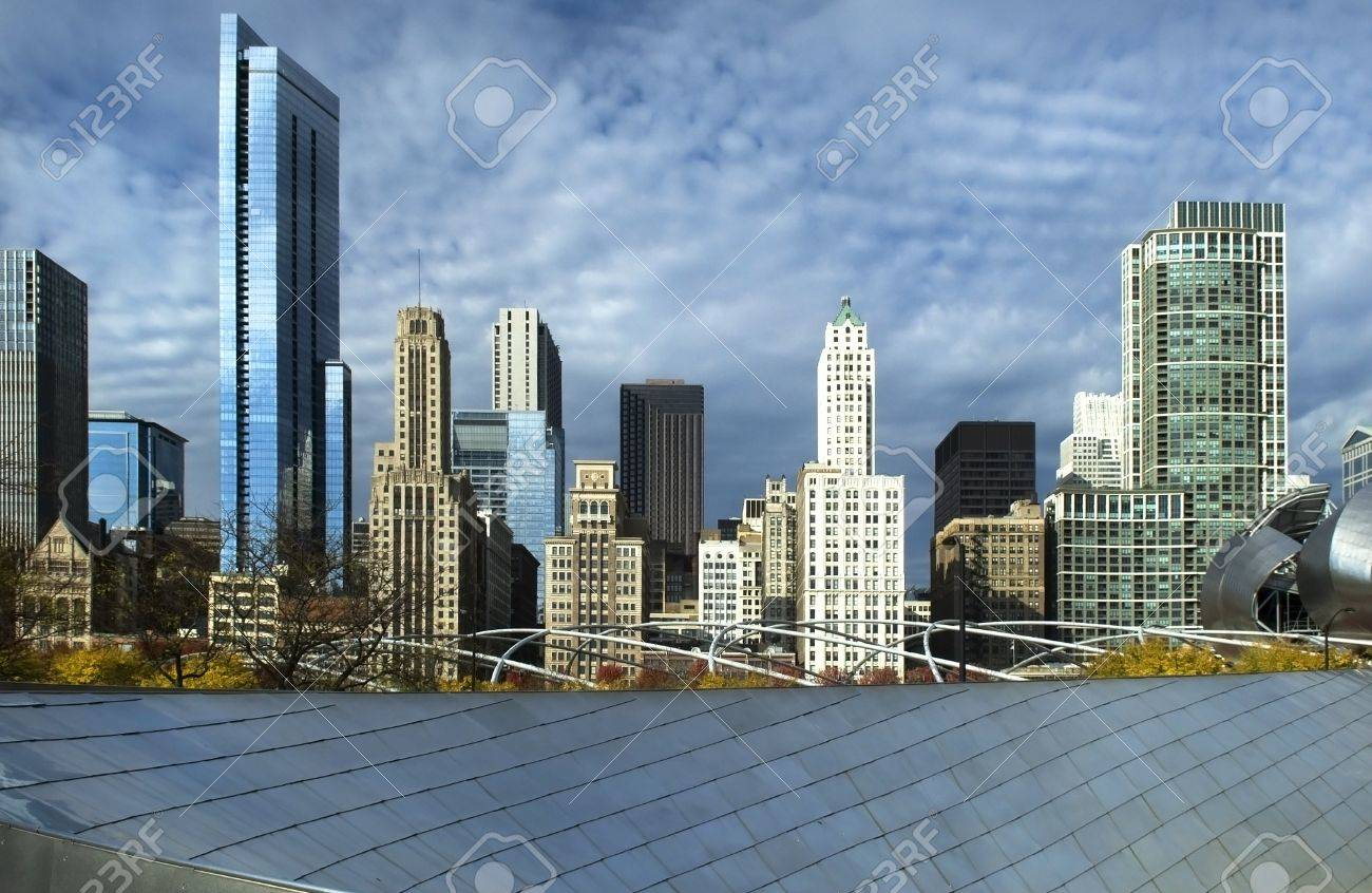 Chicago Bilder chicago high rise buildings royalty fria stockfoton bilder