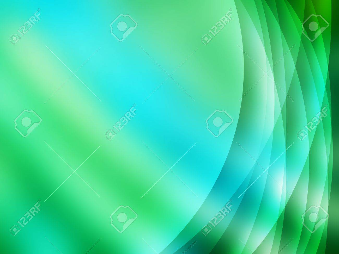 abstract background in green and turquoise tones Stock Photo - 16007387