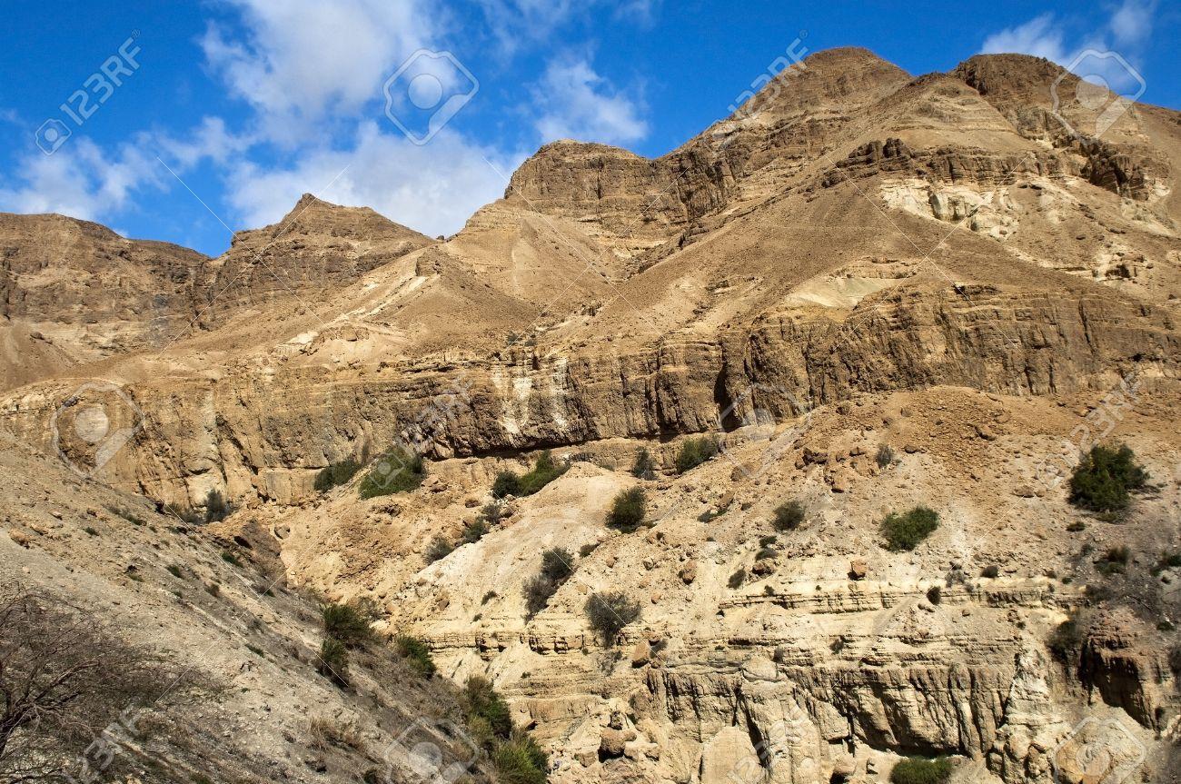 beautiful landscape in the Judean Hills, in a neighborhood the Dead Sea, Israel Stock Photo - 16978203