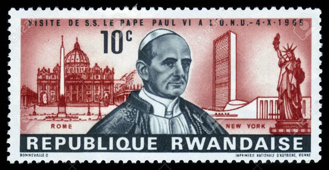 http://previews.123rf.com/images/irisphoto18/irisphoto181308/irisphoto18130800082/21595579-Rwanda-CIRCA-1965-A-stamp-printed-in-Rwanda-showing-Pope-Paul-VI-on-background-St-Peter-s-Square-in--Stock-Photo.jpg