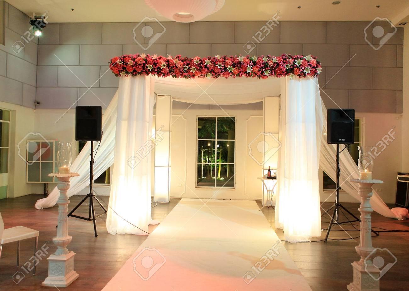 jewish traditional wedding ceremony wedding canopy chuppah or huppah in jewish tradition Stock Photo - 25902366 & Jewish Traditional Wedding Ceremony Wedding Canopy Chuppah.. Stock ...