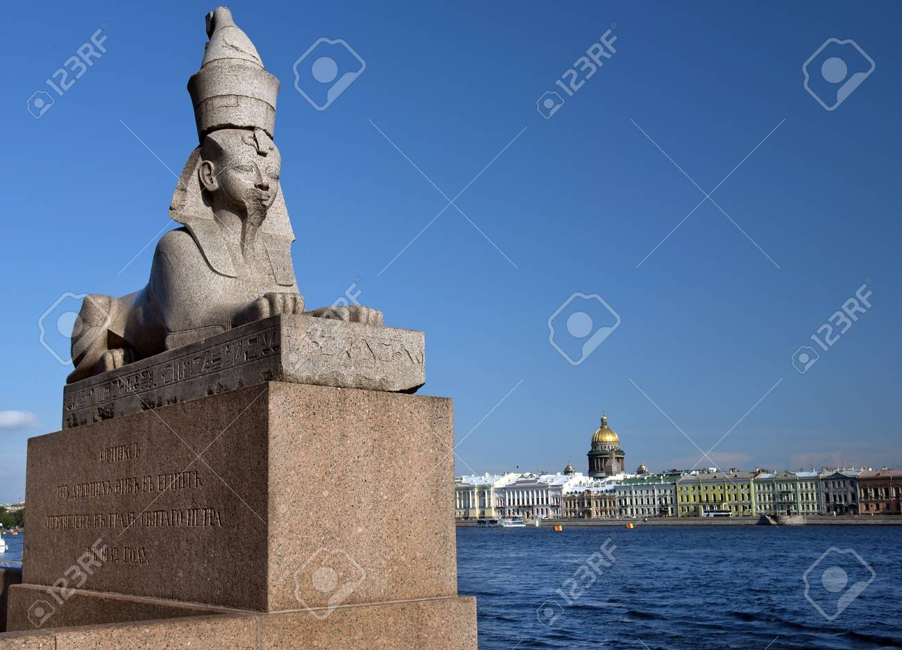 Sphinx in St. Petersburg: overview, description, history, location 59
