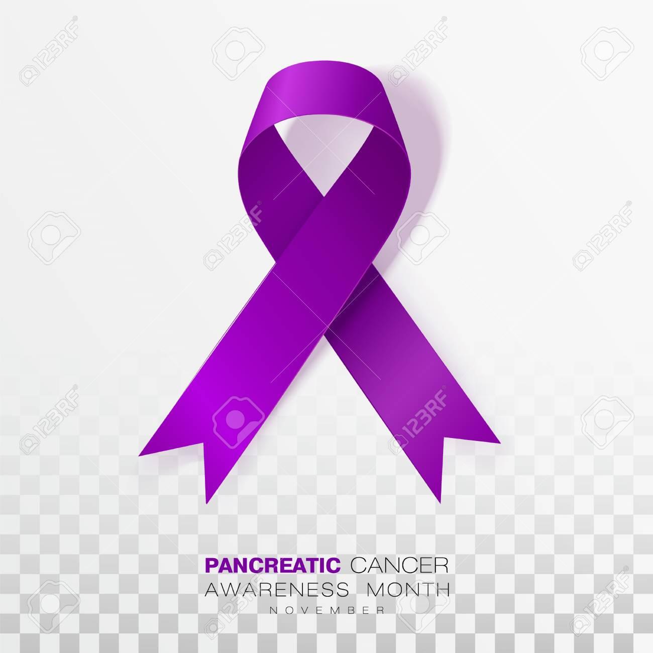 pancreatic cancer ribbon color