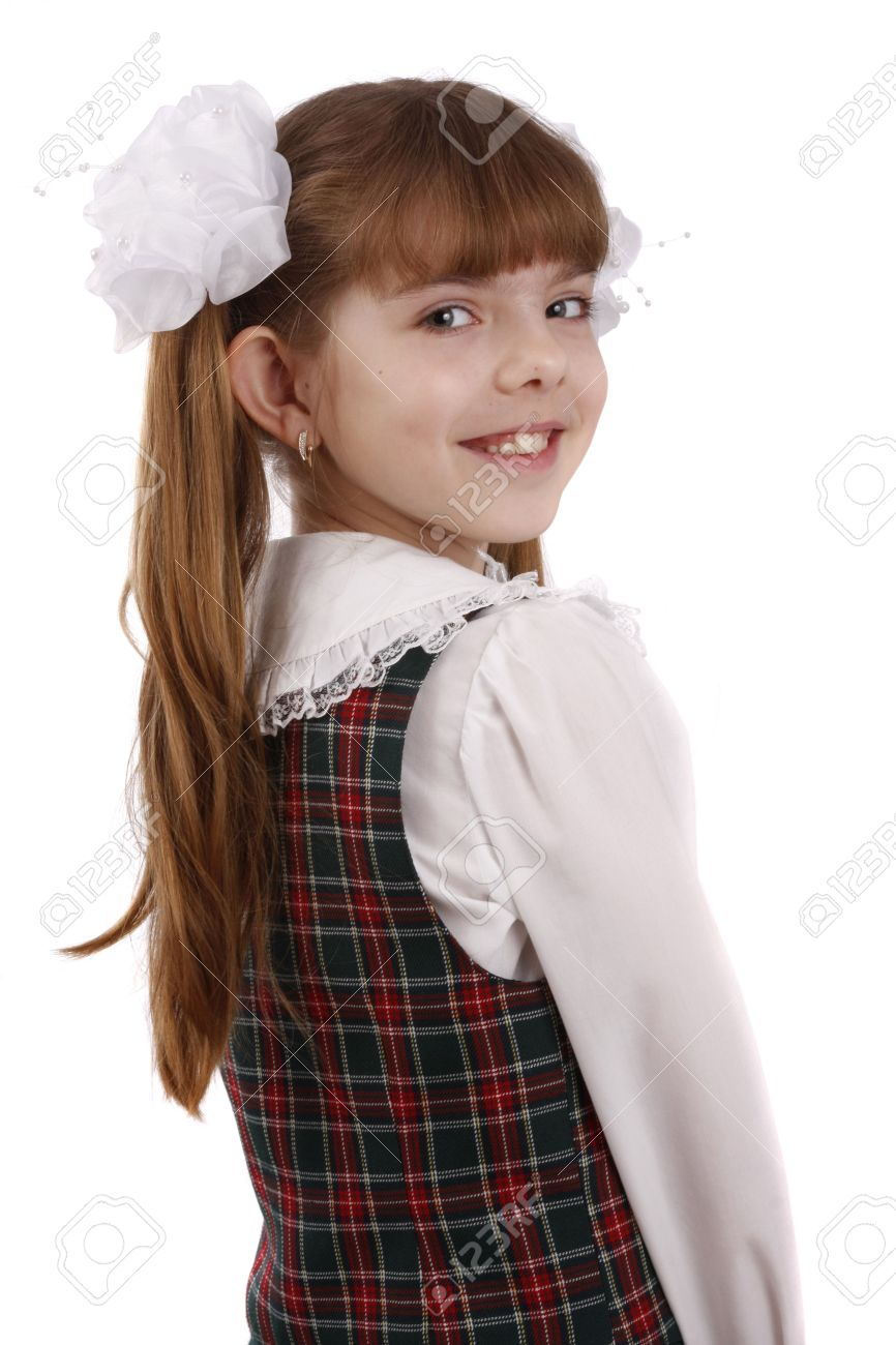 Young little girl pic school images