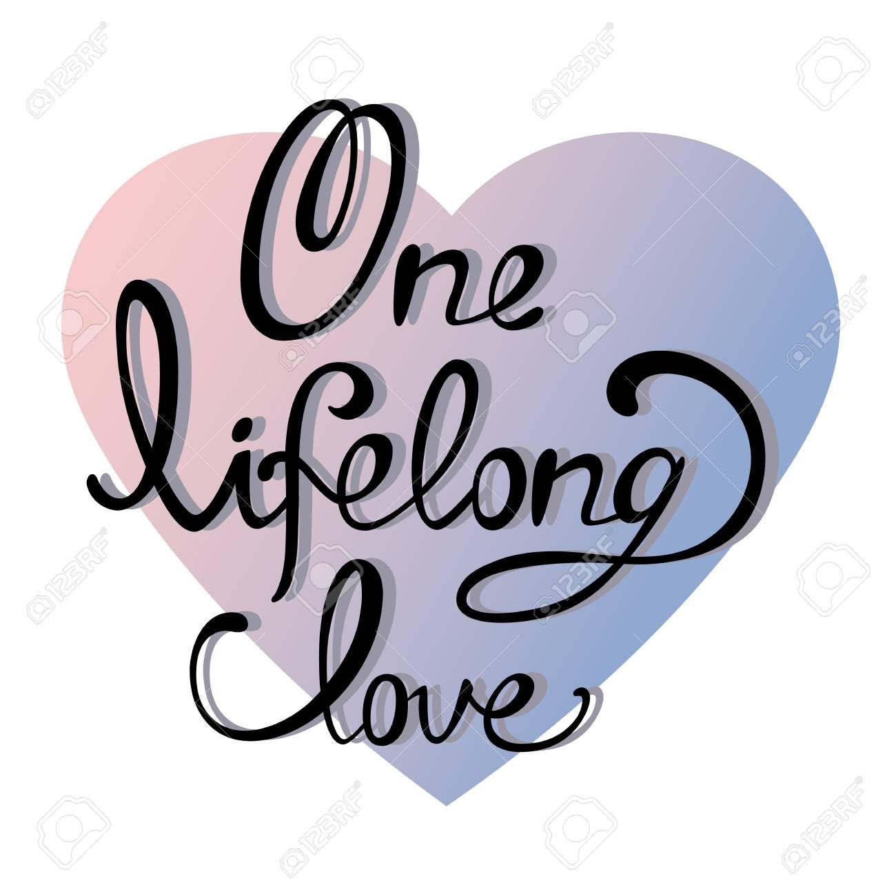 Letras La Inscripción Un Amor Para Toda La Vida Letras Negras