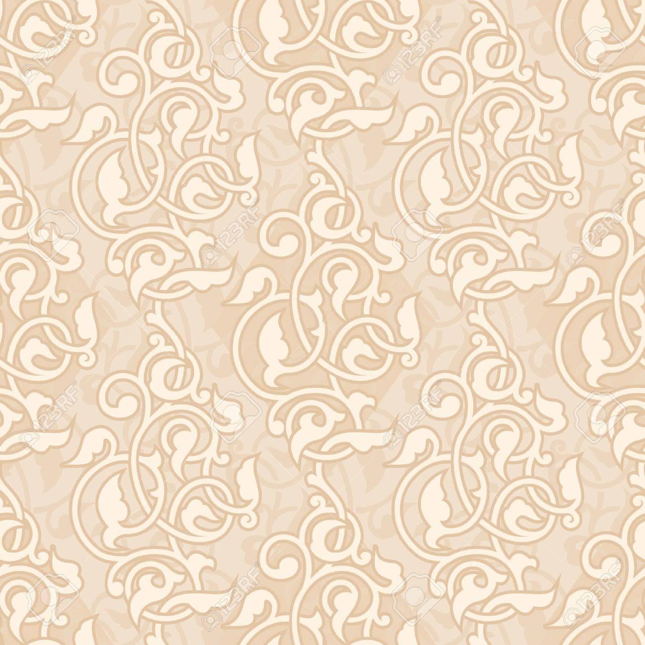 アジア装飾用のシームレスな壁紙のイラスト素材 ベクタ Image