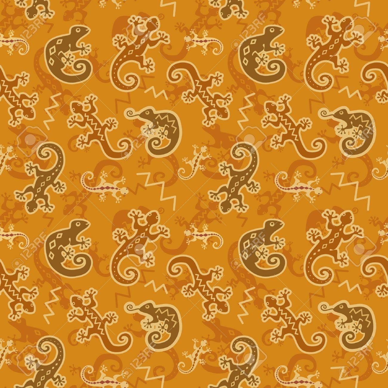 トカゲ カメレオンの壁紙のイラスト素材 ベクタ Image 13910292