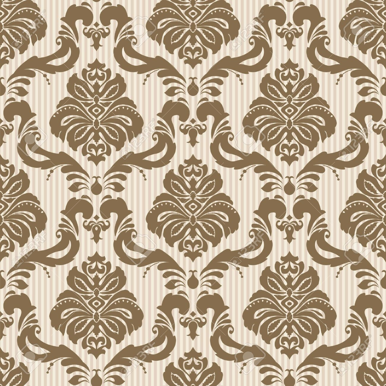 Classic wallpaper seamless ornamental pattern Stock Vector 17410796   Classic Wallpaper Seamless Ornamental Pattern Royalty Free. Seamless Wallpaper Texture