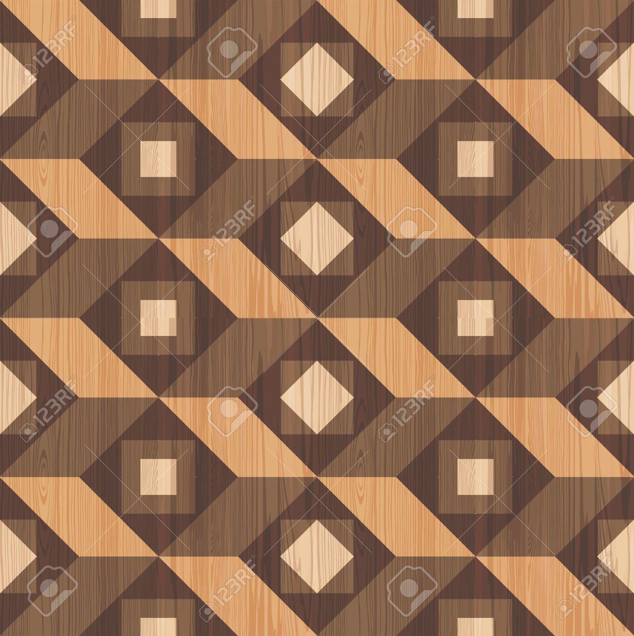 Mosaic Wooden Parquet Texture Seamless Pattern Lizenzfrei Nutzbare ...