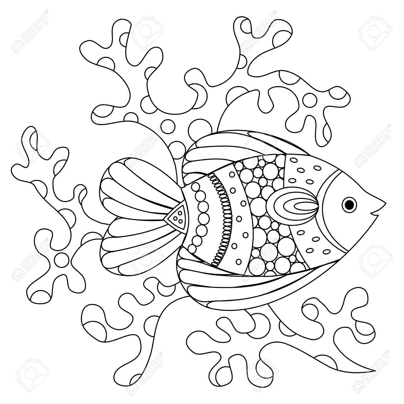 Fantastisch Meeresfische Malvorlagen Zeitgenössisch - Entry Level ...