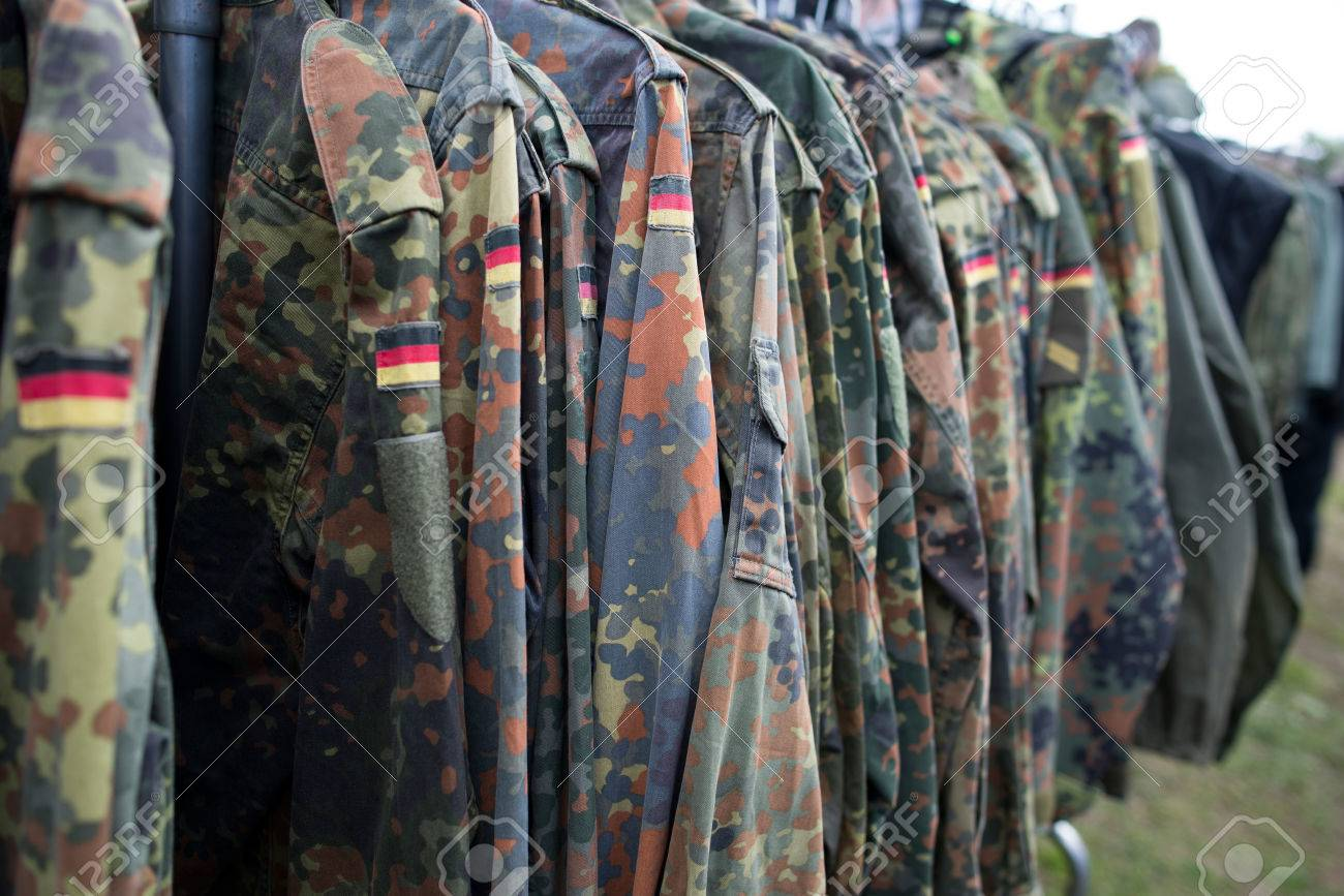 Close-up of german uniform. - 28299648