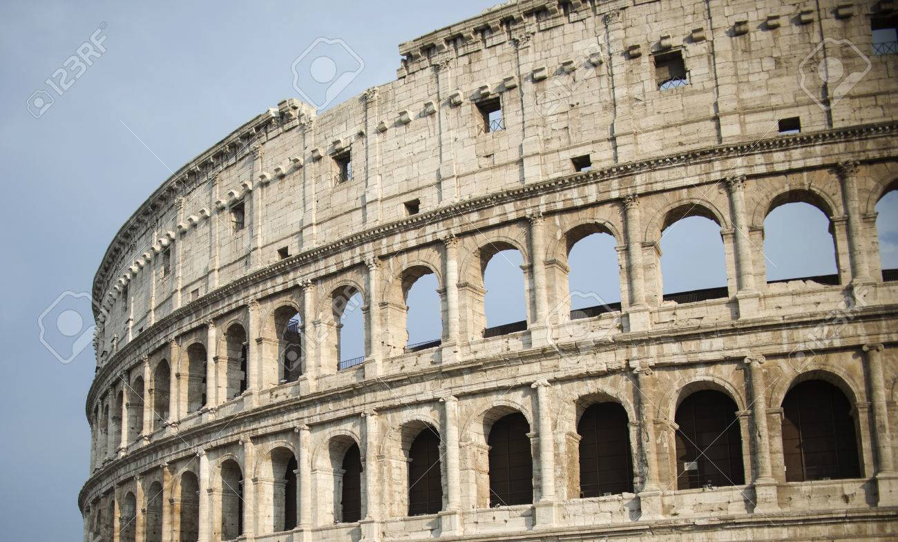 Colosseum in Rome, Italy - 45856440