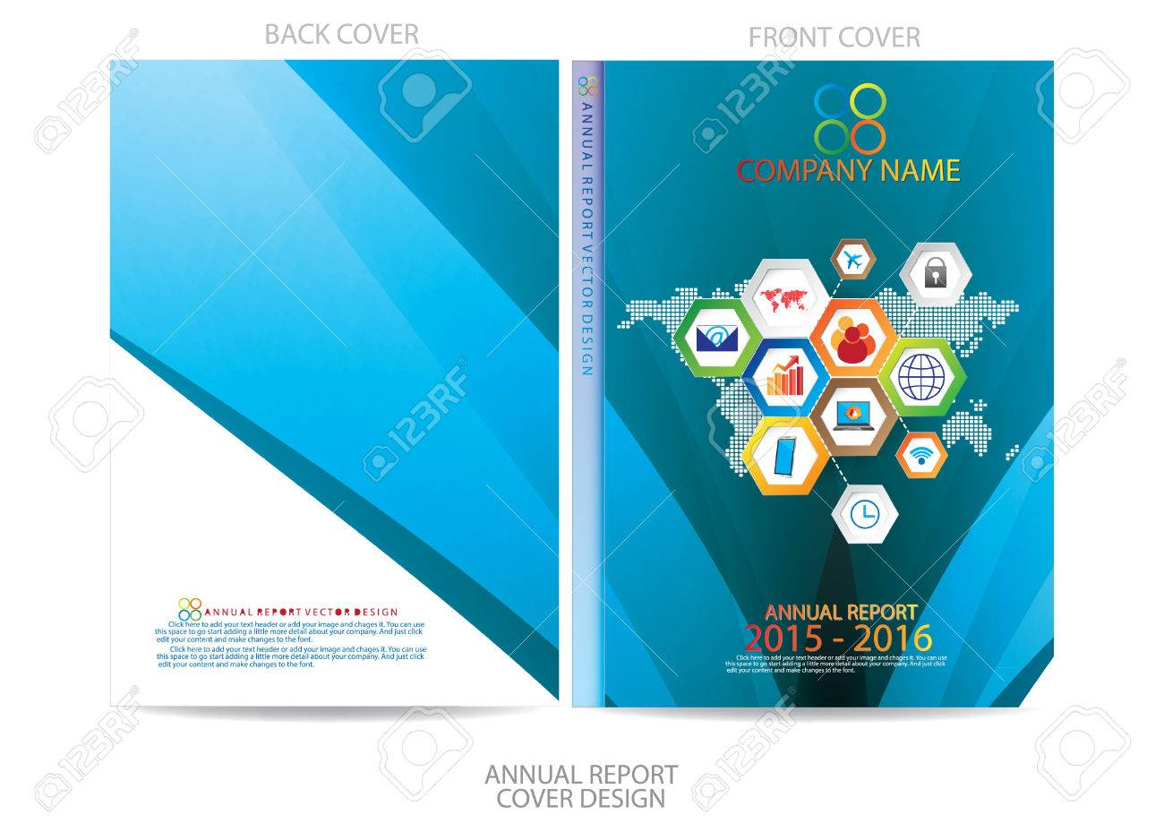 annual report cover design royalty cliparts vectors and annual report cover design stock vector 36165742