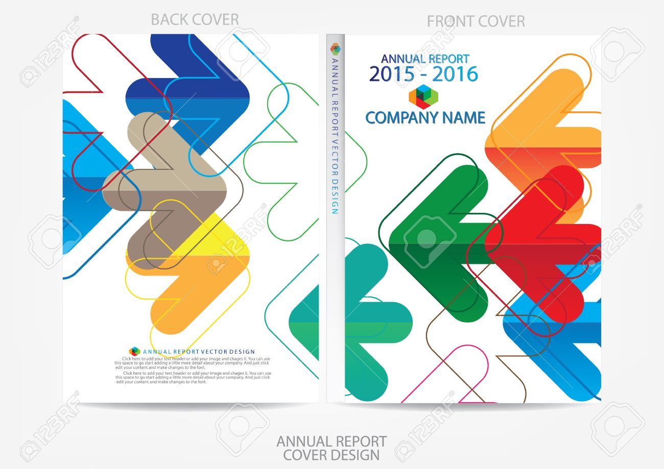 annual report cover design royalty cliparts vectors and annual report cover design stock vector 36165806