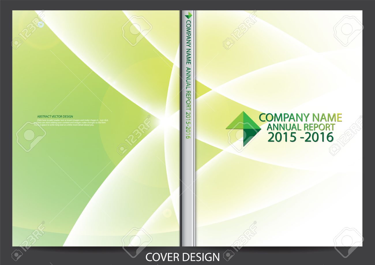 Annual Report Cover Design Royalty Free Cliparts, Vectors, And ...