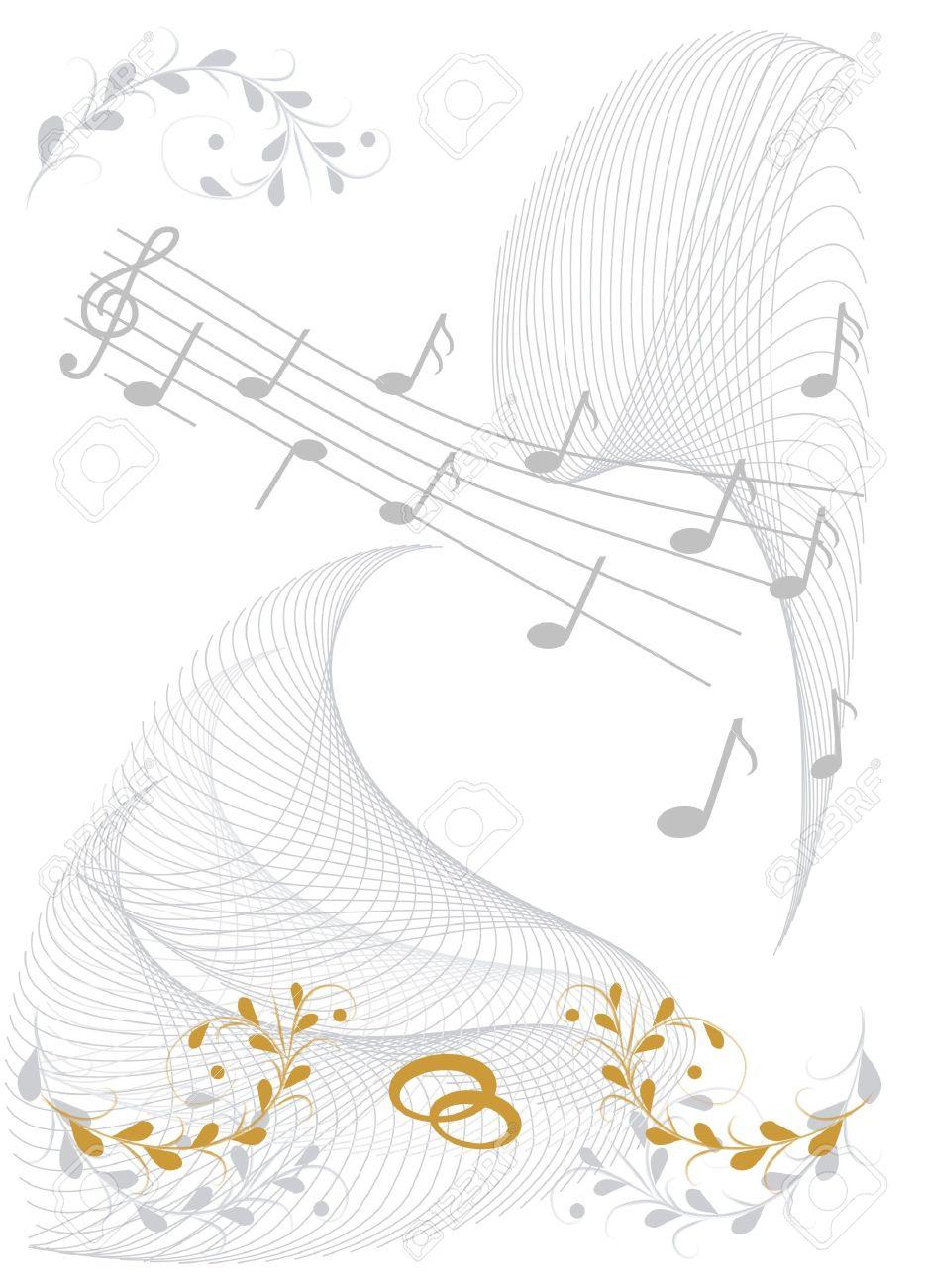 Vestido de novia de la hoja del piano