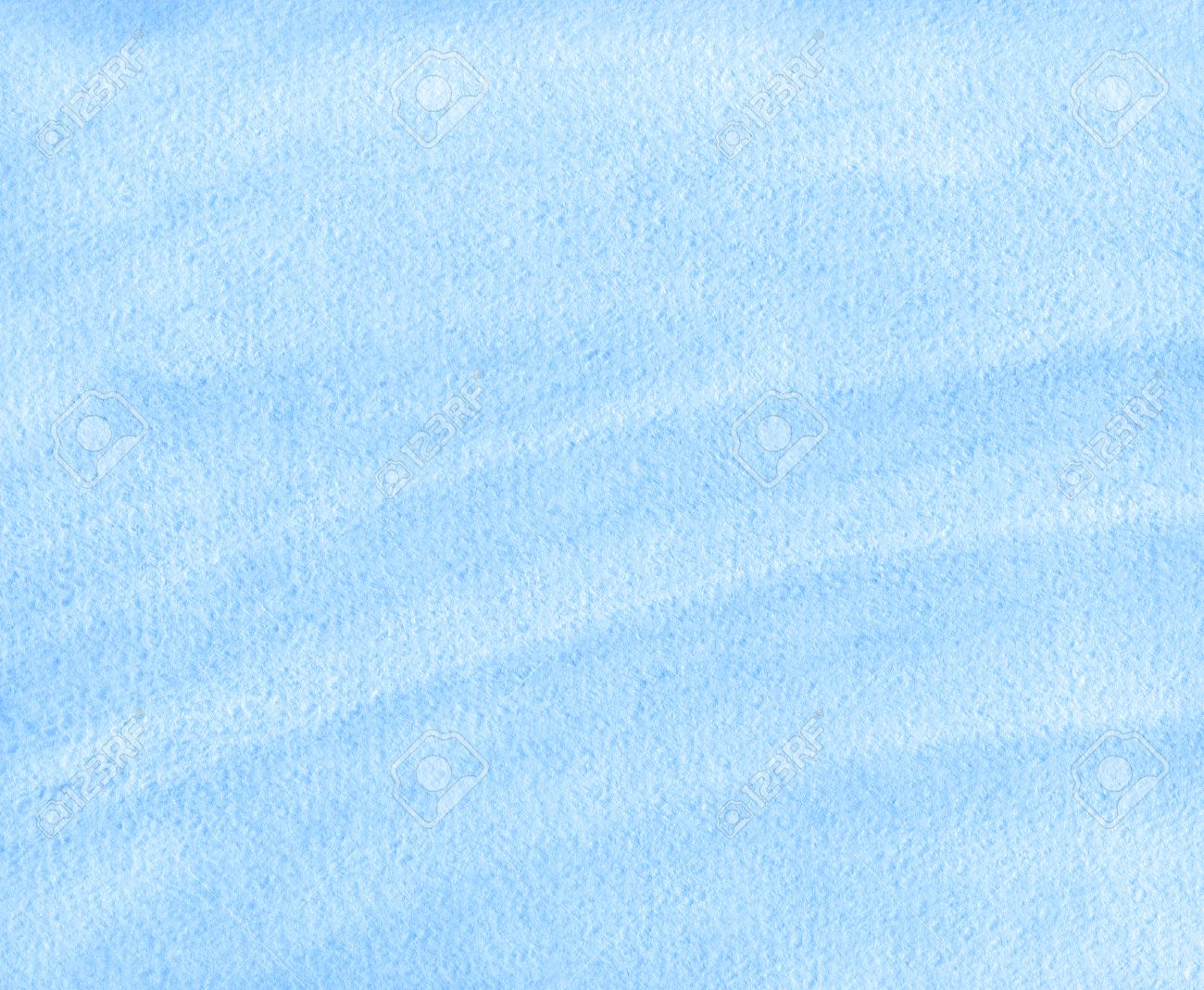 Abstract blue watercolor paper texture or background