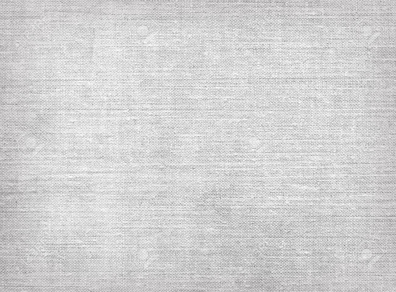 Raw Grey Linen Burlap Fabric Sack Canvas Texture Stock Photo