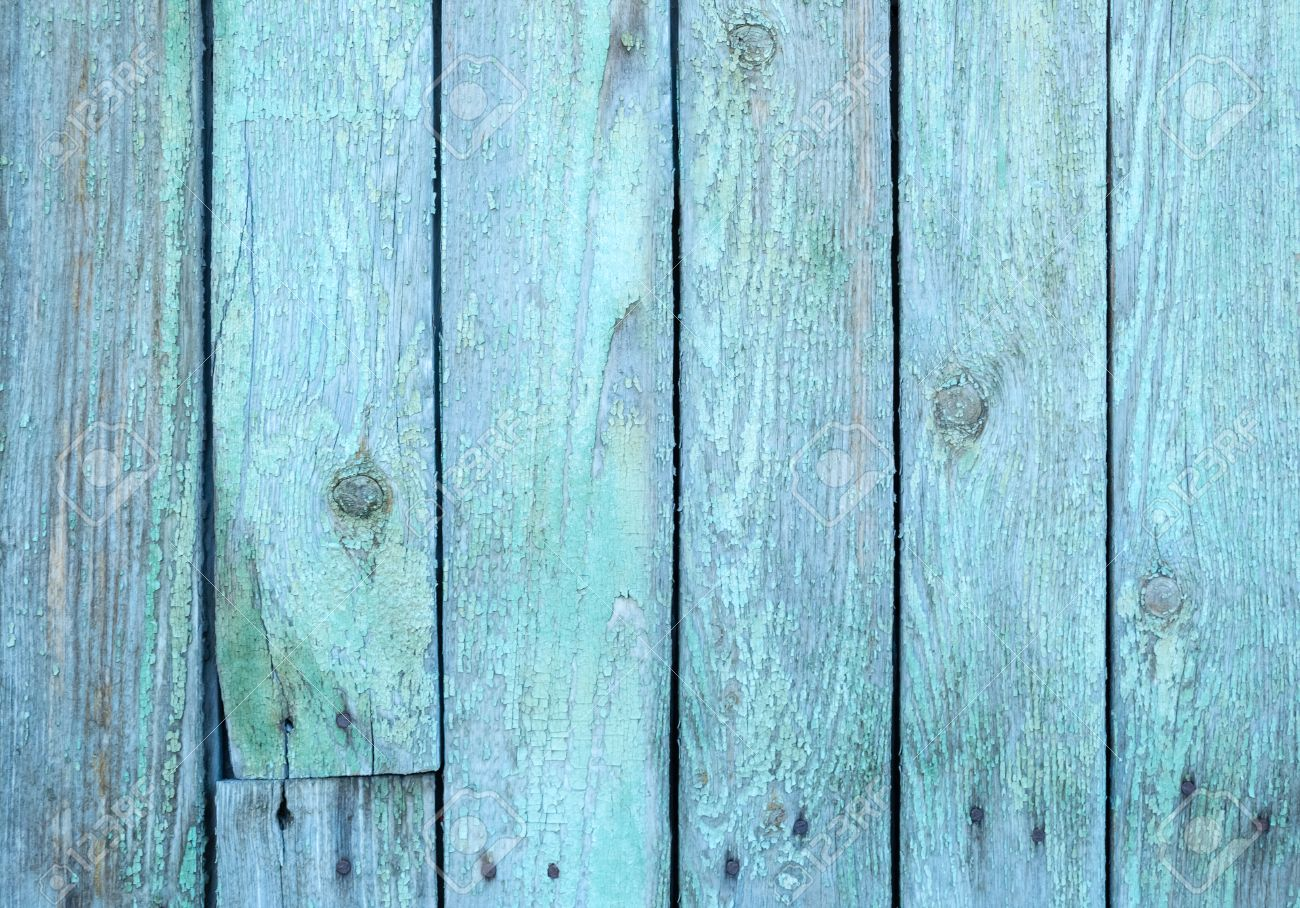 Painted wood fence color planter box on fence with grey wooden old painted blue wood fence texture or background stock photo baanklon Images