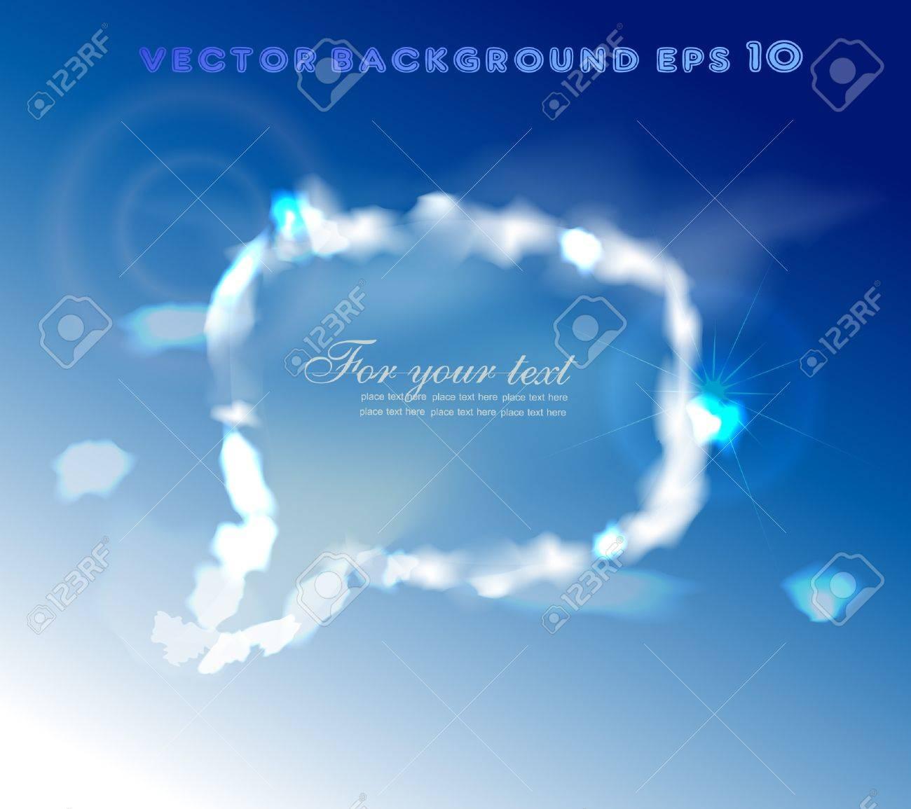 sky bubble Stock Vector - 10317883