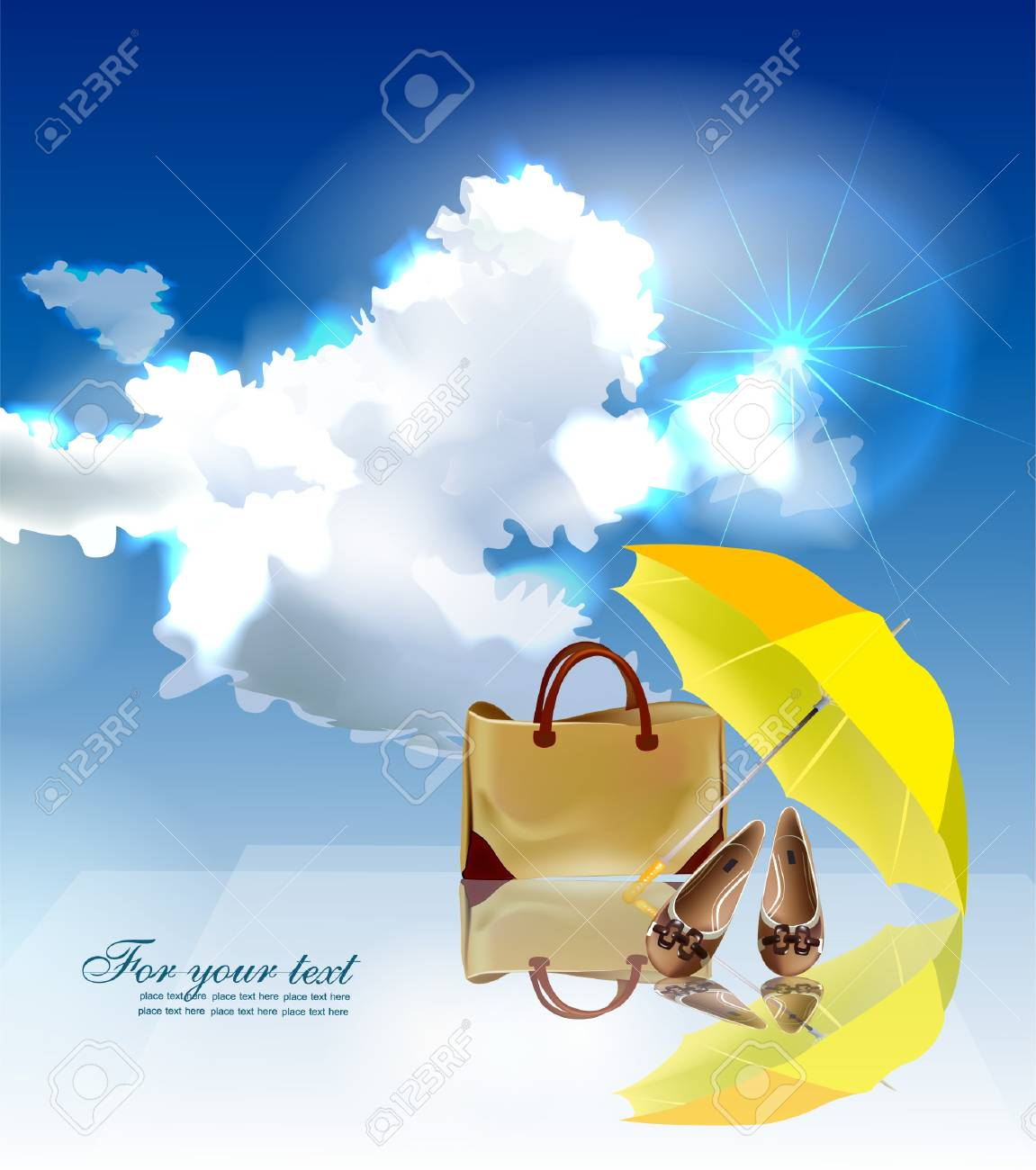 summer time background Stock Vector - 10318482