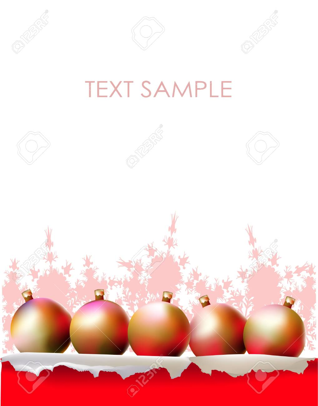 christmas background Stock Vector - 10365346