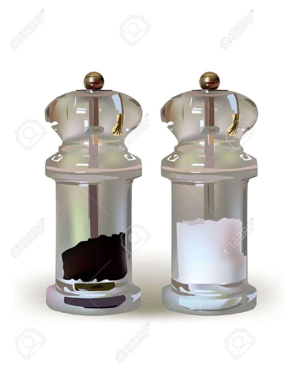 salt and pepper Stock Vector - 10402242