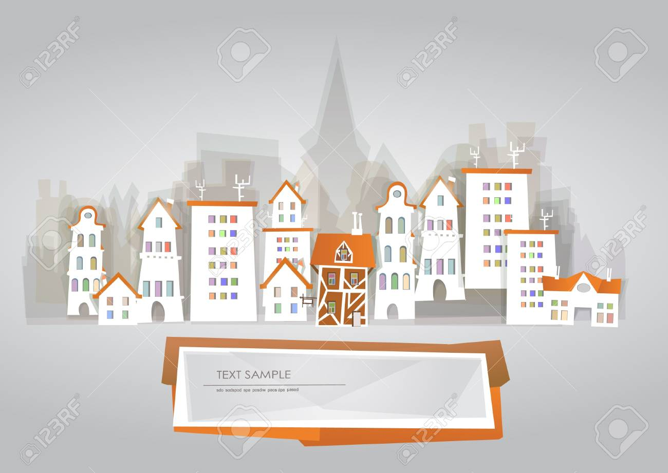 city background Stock Vector - 11324534