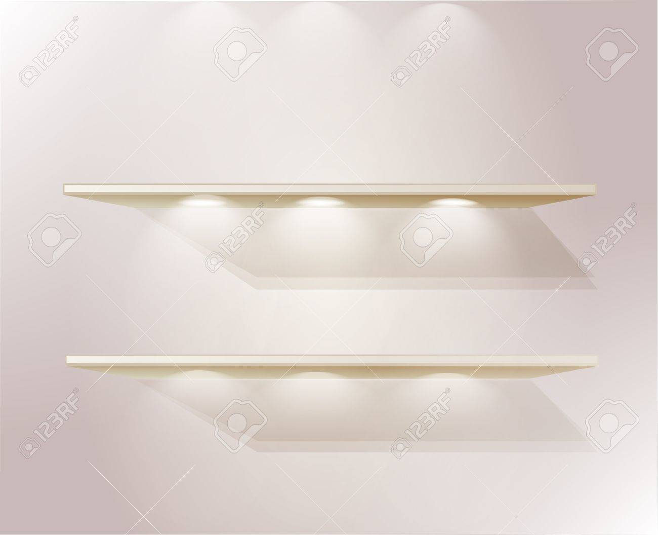 shelfs for your product Stock Vector - 11959684