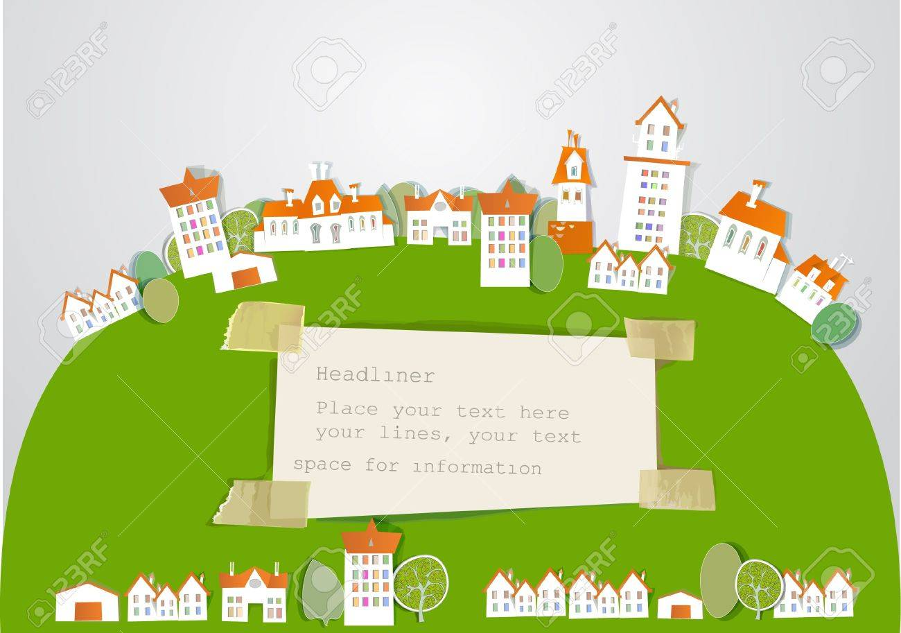 city on the hill Stock Vector - 14291570