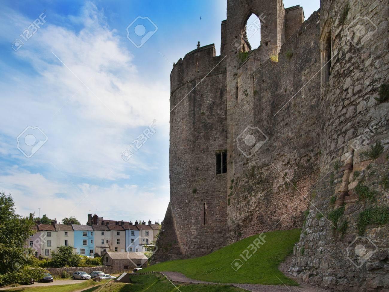 Castle Photography Chepstow Chepstow Castle Ruins