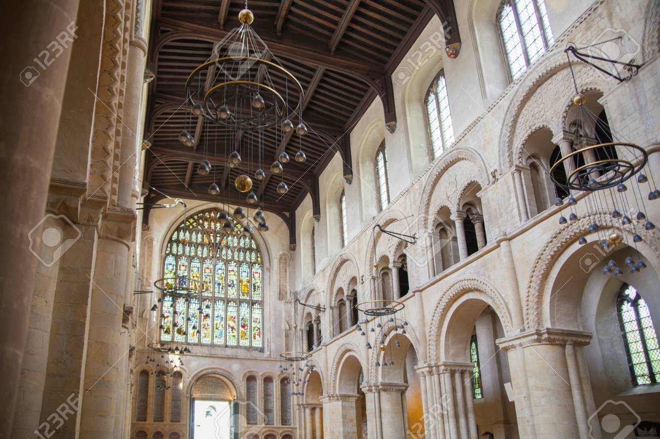 ROCHESTER, UK - MAY 16, 2015: Rochester Cathedral is England's