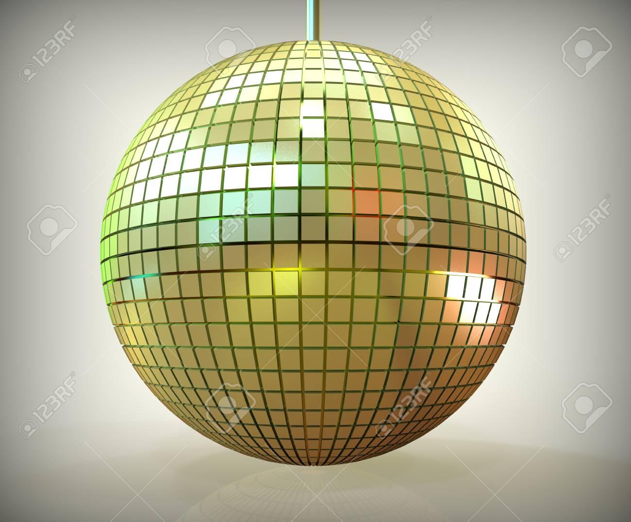 3d render of disco ball Stock Photo - 23268224