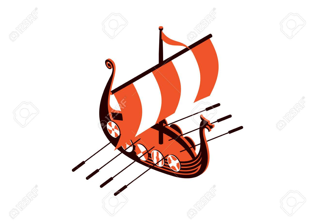 viking ship royalty free cliparts vectors and stock illustration rh 123rf com viking ship logo free viking ship logo black background