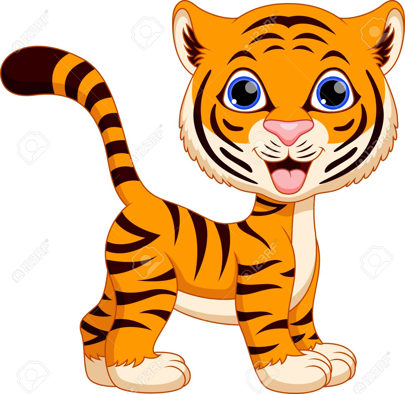 Image result for animated tiger