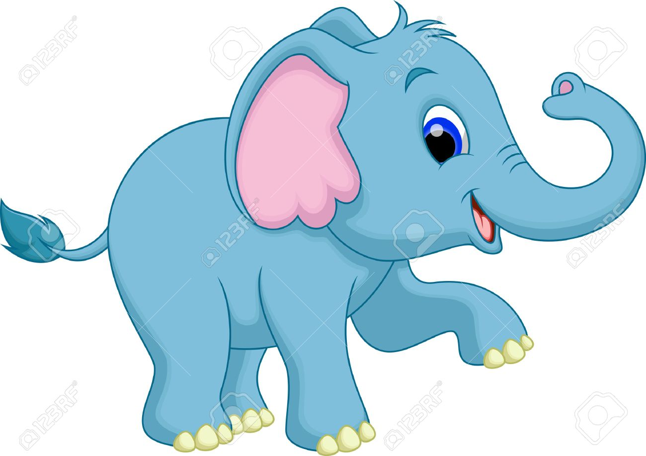 - Cute Elephant Cartoon Royalty Free Cliparts, Vectors, And Stock