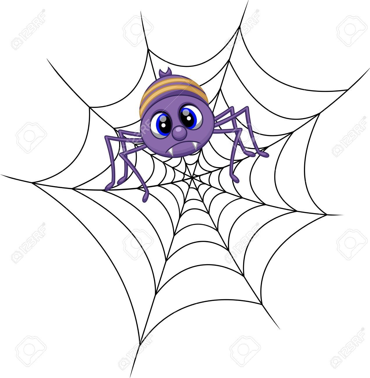 funny spider cartoon royalty free cliparts vectors and stock