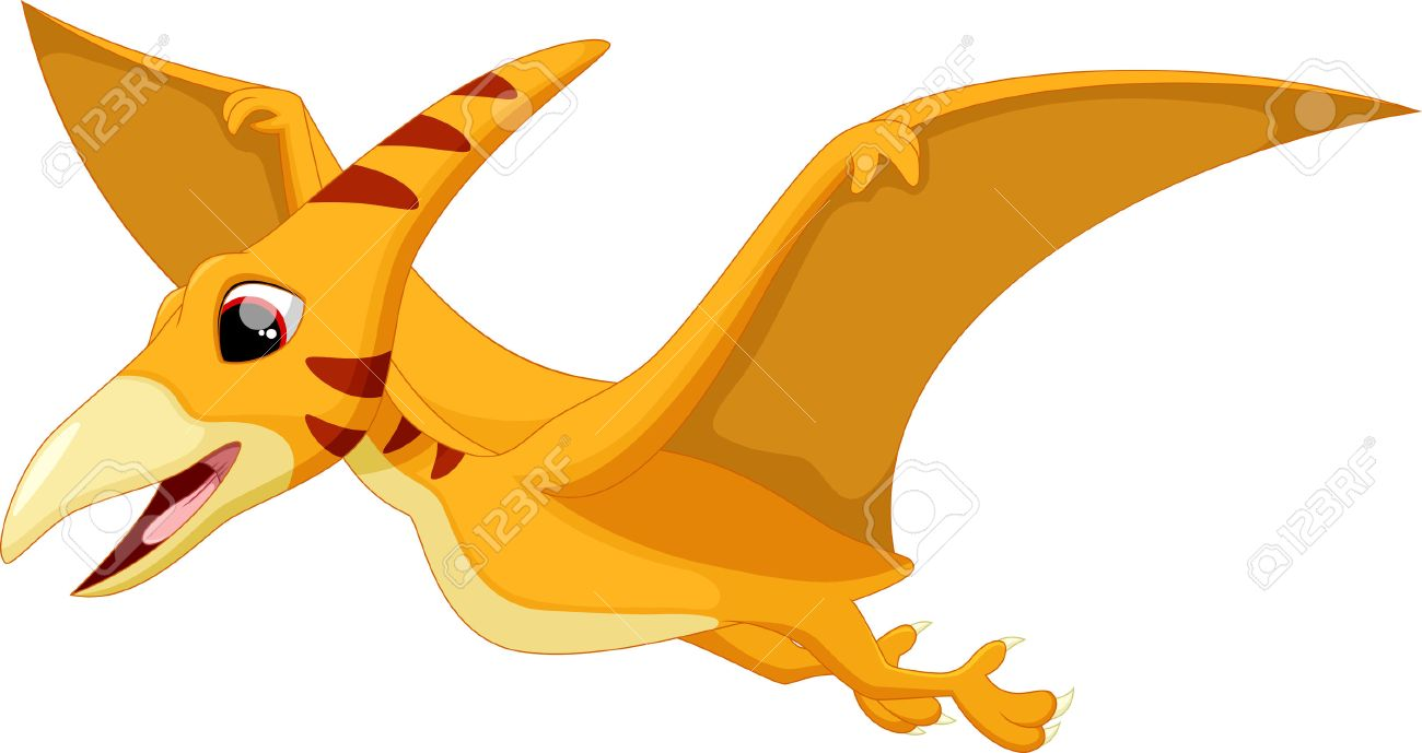 cute pterodactyl cartoon royalty free cliparts vectors and stock rh 123rf com pterodactyl dinosaur clipart pterodactyl dinosaur clipart