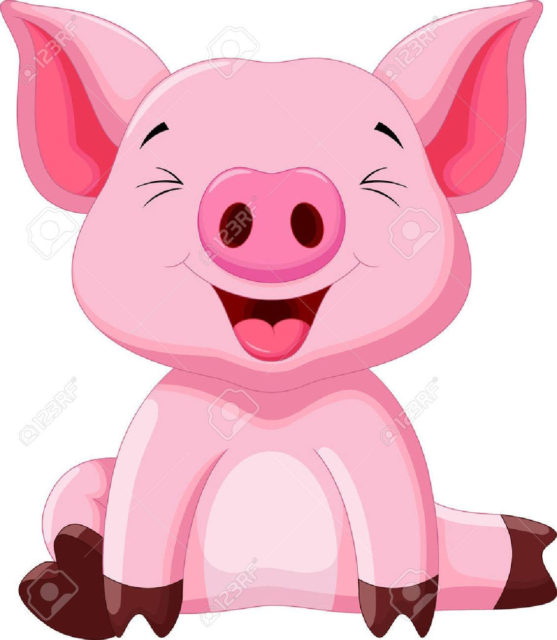 Image result for pig cartoon